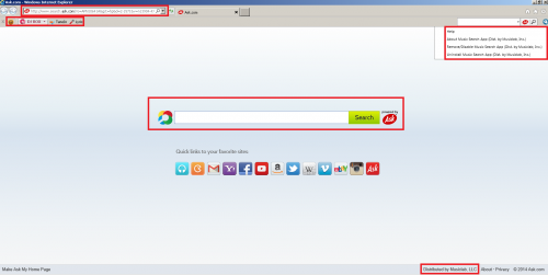 How to remove music search app by IAC | Adaware