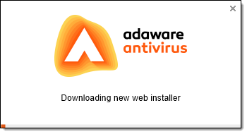 Downloading Installer window