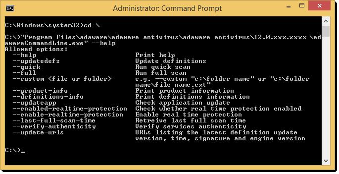 Action List window