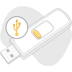 Create a rescue USB