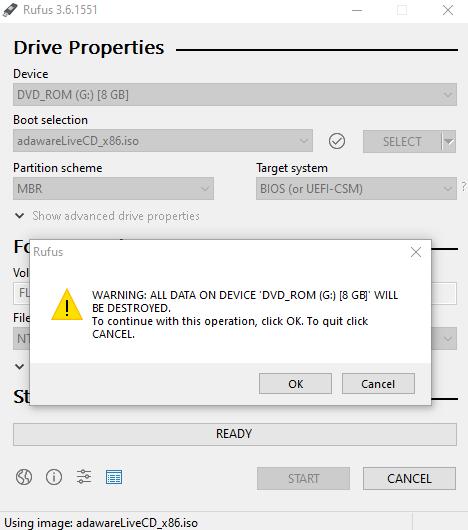 Free Rescue USB Toolkit | Adaware