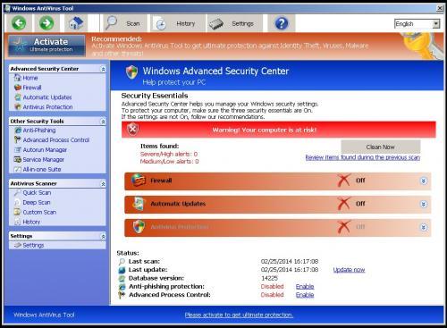 how to remove windows antivirus